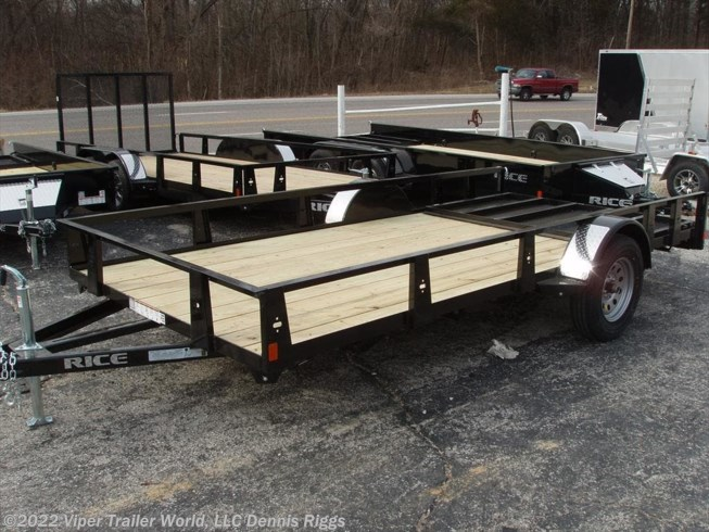 "2018 Rice Trailers SE New Style 76"" x 12'"
