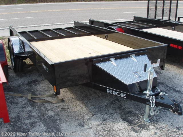 <span style='text-decoration:line-through;'>2019 Rice Trailers Stealth 76&quot; x 12&apos;</span>