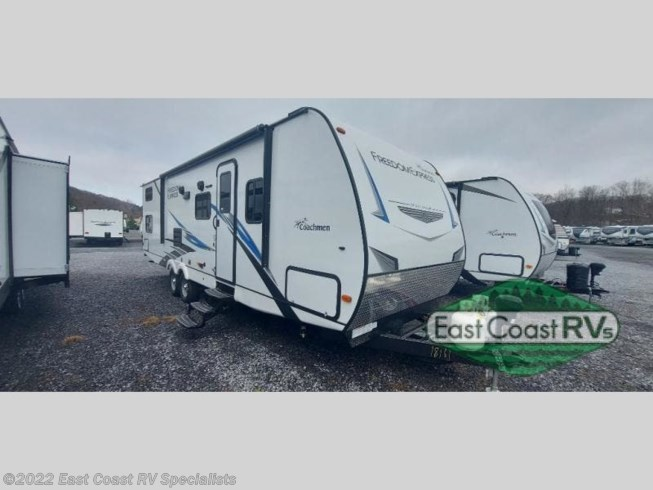 2021 Coachmen Freedom Express Select 29SE - New Travel Trailer For Sale by East Coast RV Specialists in Bedford, Pennsylvania features Slideout