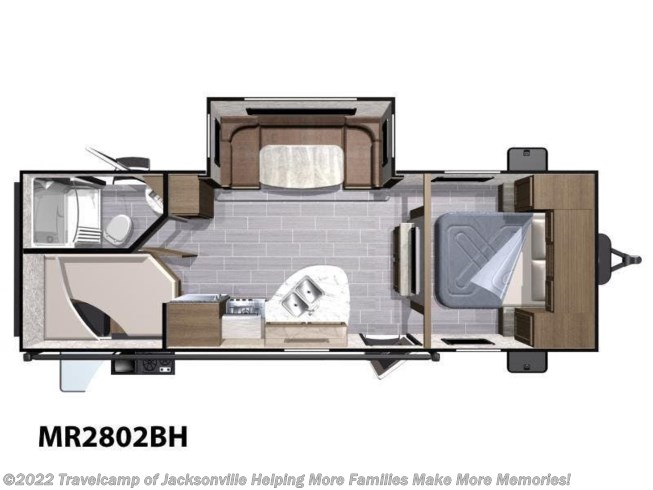 2019 Highland Ridge Mesa Ridge - New Travel Trailer For Sale by Travelcamp of Jacksonville The Highest Trade Values. The Highest Review Scores. in Jacksonville, Florida