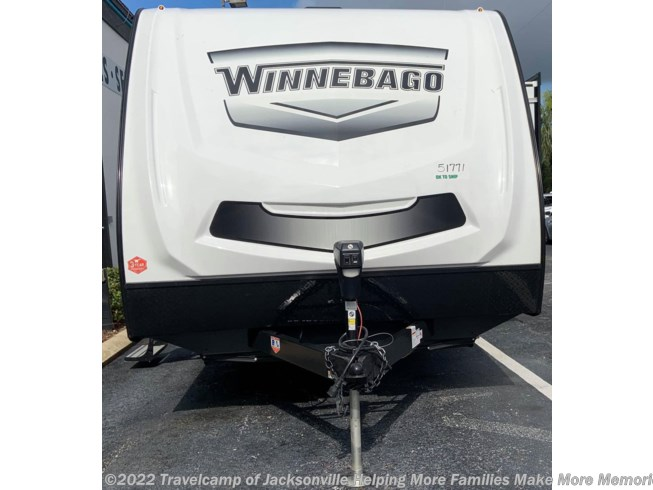2021 Minnie 2455BHS by Winnebago from Travelcamp of Jacksonville The Highest Trade Values. The Highest Review Scores. in Jacksonville, Florida