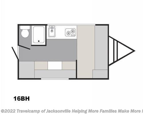 2021 Sunset Park RV CLASSIC 16BH - New Travel Trailer For Sale by Travelcamp of Jacksonville in Jacksonville, Florida