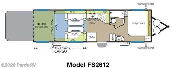 2012 Forest River Rv Stealth Limited Edition Fs2612 For
