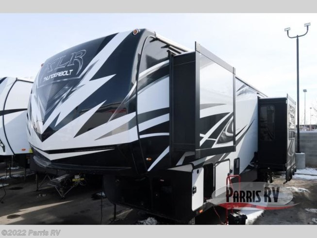 2019 Forest River XLR Thunderbolt 382AMP - New Toy Hauler For Sale by Parris RV in Murray, Utah features Slideout