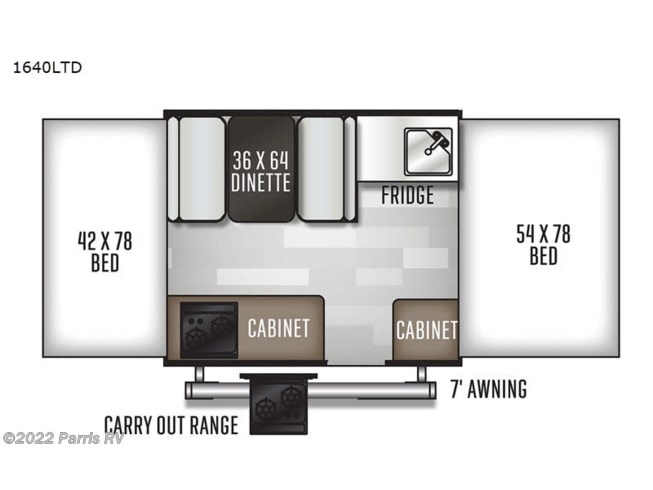 2021 Forest River Rockwood Freedom Series 1640LTD - New Popup For Sale by Parris RV in Murray, Utah