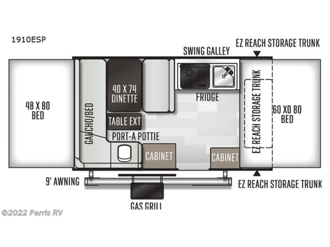 2021 Forest River Rockwood Extreme Sports 1910ESP - New Popup For Sale by Parris RV in Murray, Utah