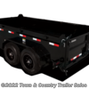 2019 H&H H8316DBW-B-140  - Dump (Heavy Duty) Trailer New  in Burnsville MN For Sale by Town & Country Trailer Sales call 877-830-3943 today for more info.