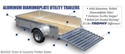 New 2020 Trophy For Sale by Town & Country Trailer Sales available in Burnsville, Minnesota