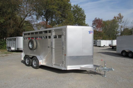 Livestock Trailer - 2018 Frontier BL162 available New in Carterville, IL