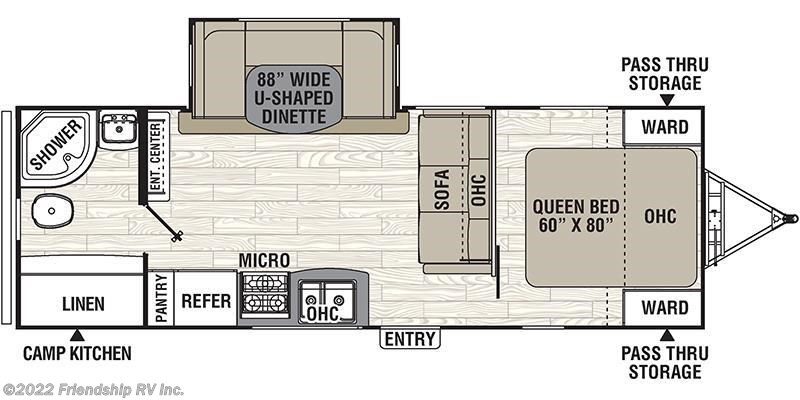 2018 coachmen rv freedom express 248rbs for sale in friendship wi 2018 coachmen freedom express 248rbs floorplan image publicscrutiny Images