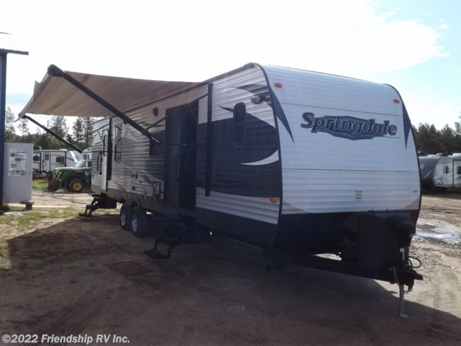 Used 2016 Keystone Springdale 38FL available in Friendship, Wisconsin
