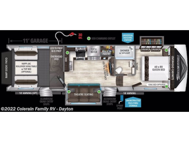 2020 Grand Design Momentum G-Class - New Fifth Wheel For Sale by Colerain RV of Dayton in Dayton, Ohio
