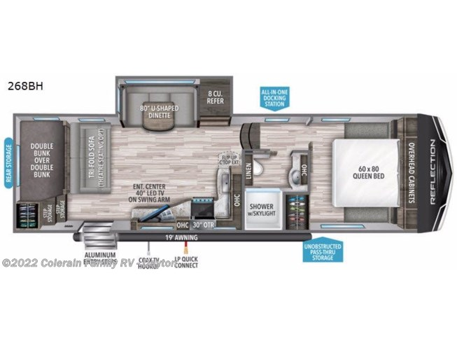 2020 Grand Design Reflection 150 Series - New Fifth Wheel For Sale by Colerain RV of Dayton in Dayton, Ohio