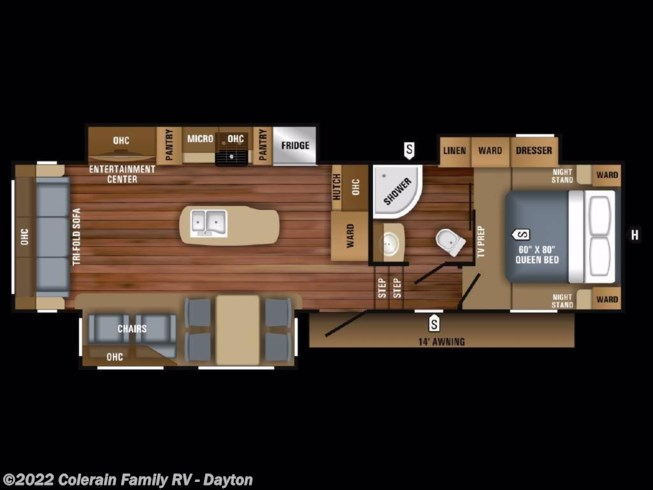 2020 Jayco Eagle HT - New Fifth Wheel For Sale by Colerain RV of Dayton in Dayton, Ohio