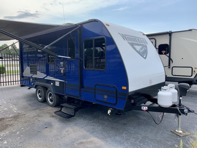 New 2019 Winnebago Micro Minnie 2100BH  (Blue/Stone) available in Taylor, Michigan