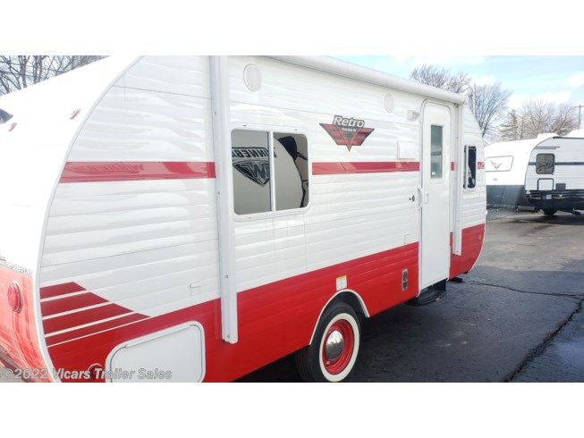 New 2020 Riverside RV Retro 179 White/Red available in Taylor, Michigan
