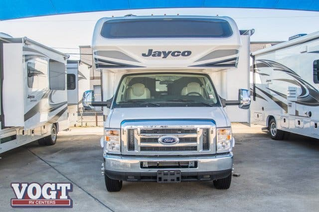 2019 Jayco Greyhawk Prestige 29MVP - New Class C For Sale by Vogt Family Fun Center in Fort Worth, Texas features Slideout
