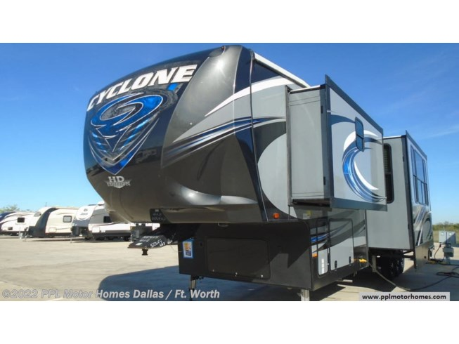 Used 2017 Heartland Cyclone 4113 available in Cleburne, Texas