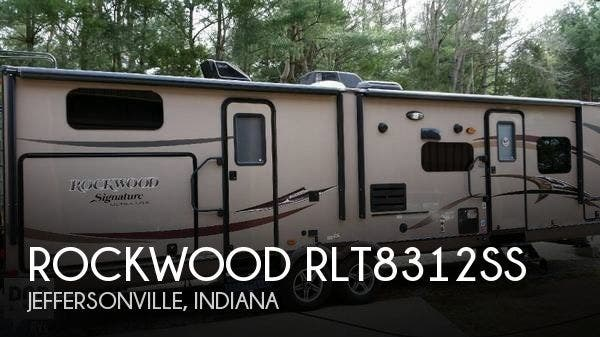 Used 2014 Forest River Rockwood RLT8312SS available in Jeffersonville, Indiana