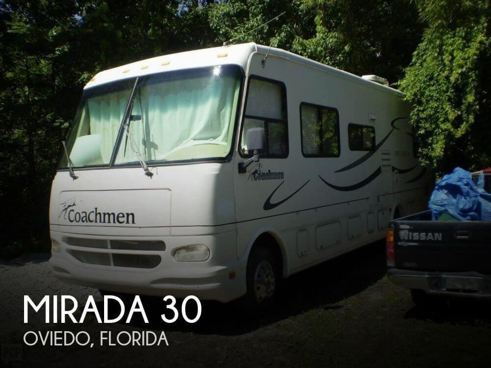2002 coachmen rv mirada 30 for sale in oviedo fl 32765 118239 classifieds. Black Bedroom Furniture Sets. Home Design Ideas
