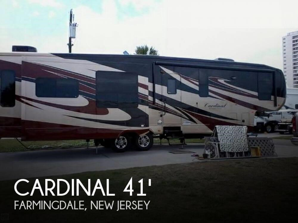 2012 Forest River Rv Cardinal 41 M 3450rl For Sale In