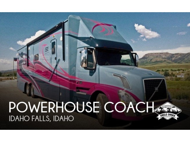 "Used 2015 Powerhouse Coach ""Ultra Platinum Quadslide available in Idaho Falls, Idaho"