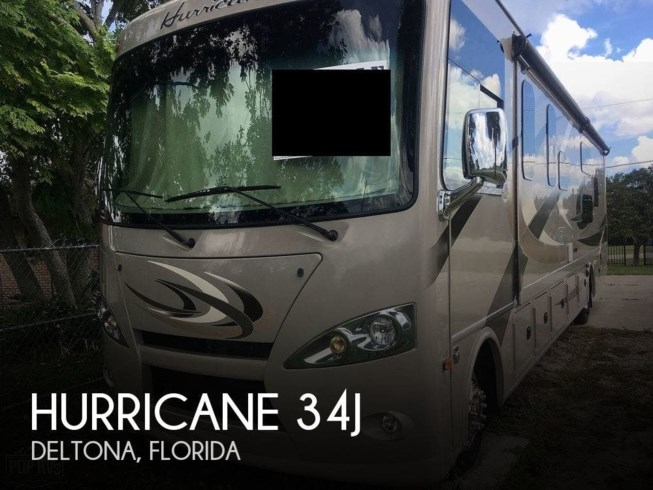 Used 2016 Thor Motor Coach Hurricane 34J available in Deltona, Florida