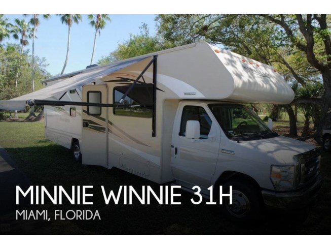Used 2016 Winnebago Minnie Winnie 31H available in Miami, Florida