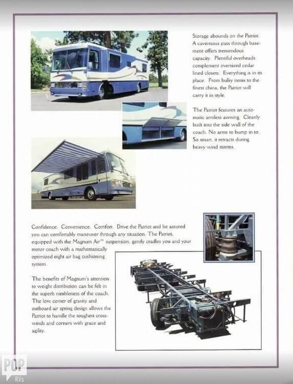 1998 Beaver RV Patriot 33 CONCORD for Sale in Kenai, AK 99611 | 174149