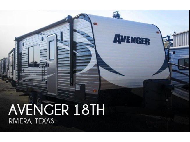 Used 2016 Forest River Avenger 18TH available in Riviera, Texas