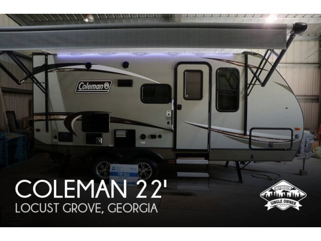 Used 2018 Dutchmen Coleman Light 1805RB available in Locust Grove, Georgia