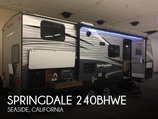 Used 2018 Keystone Springdale 240BHWE available in Seaside, California