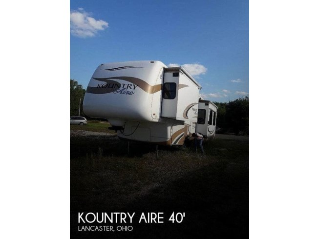 Used 2006 Newmar Kountry Aire 38 BLSE available in Lancaster, Ohio