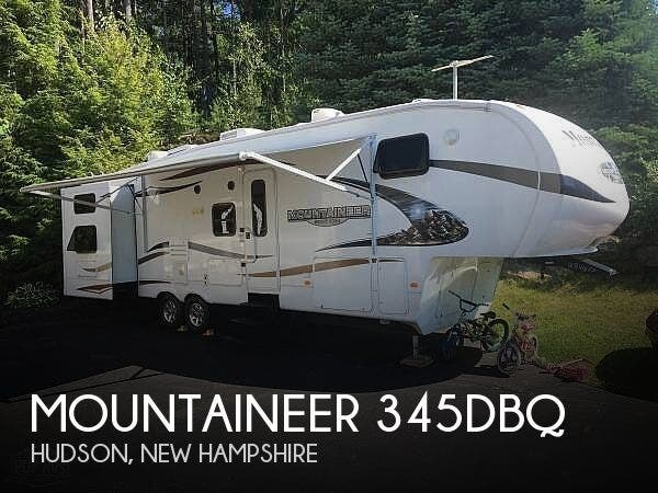 Used 2010 Keystone Mountaineer 345DBQ available in Hudson, New Hampshire