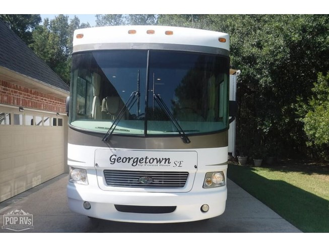 2008 Georgetown 350DS - Used Class A For Sale by POP RVs in Madisonville, Louisiana features Air Conditioning, Slideout, Awning, Leveling Jacks, Generator