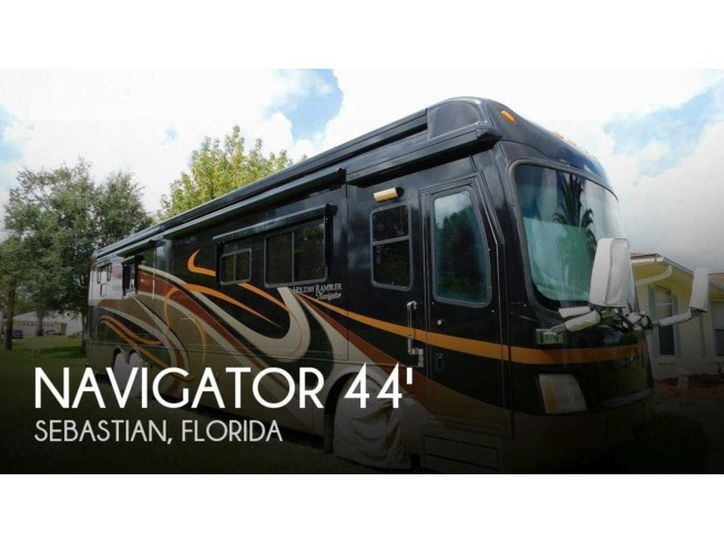 Used 2009 Holiday Rambler Navigator Bismarck IV available in Sebastian, Florida