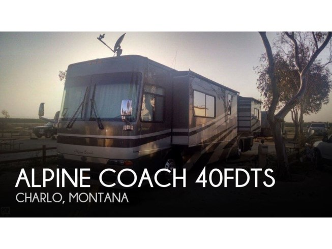 Used 2005 Western RV Alpine Coach 40FDTS available in Charlo, Montana
