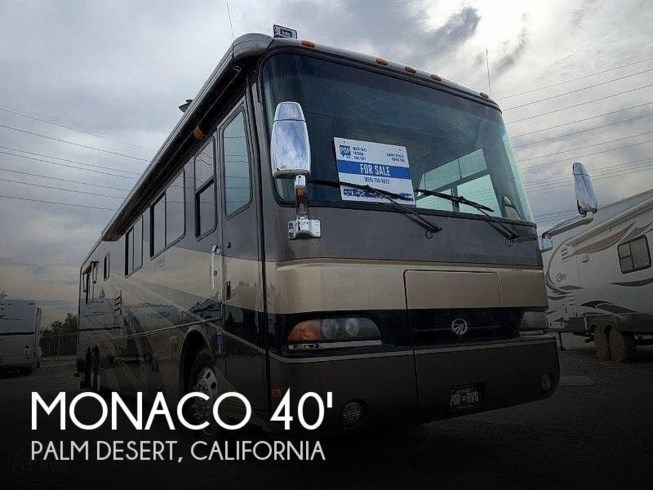 Used 2003 Monaco RV Dynasty Monaco  40 Regent available in Palm Desert, California
