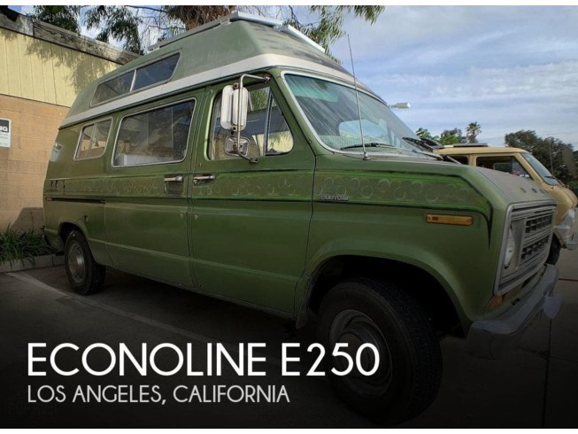 Used 1975 Ford Econoline E250 available in Los Angeles, California