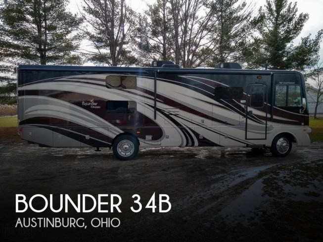 Used 2015 Fleetwood Bounder 34B available in Austinburg, Ohio