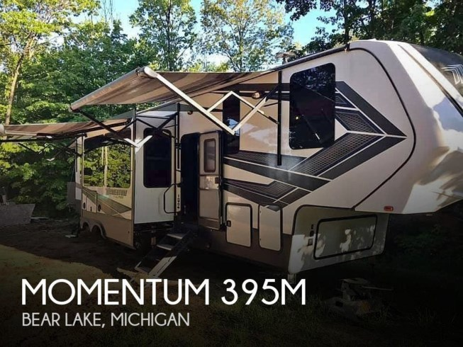 Used 2018 Grand Design Momentum 395M available in Bear Lake, Michigan