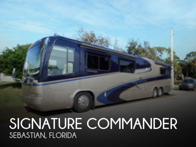 Used 2003 Monaco RV Signature Series Commander available in Sebastian, Florida