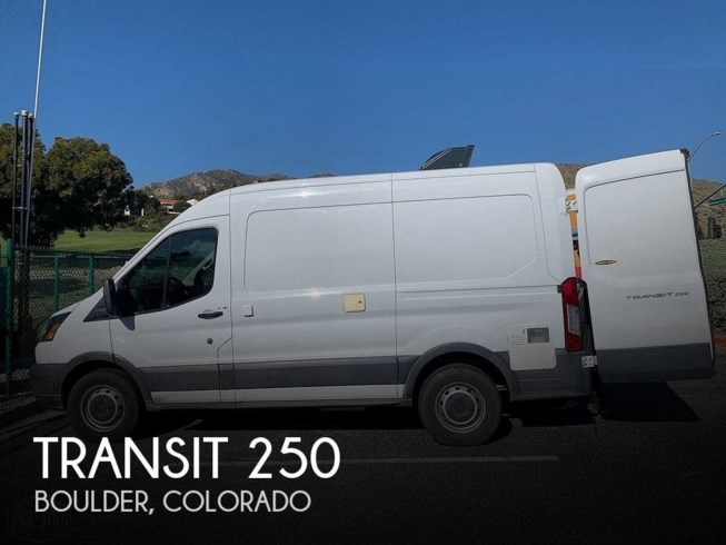 Used 2016 Ford Transit 250 available in Boulder, Colorado