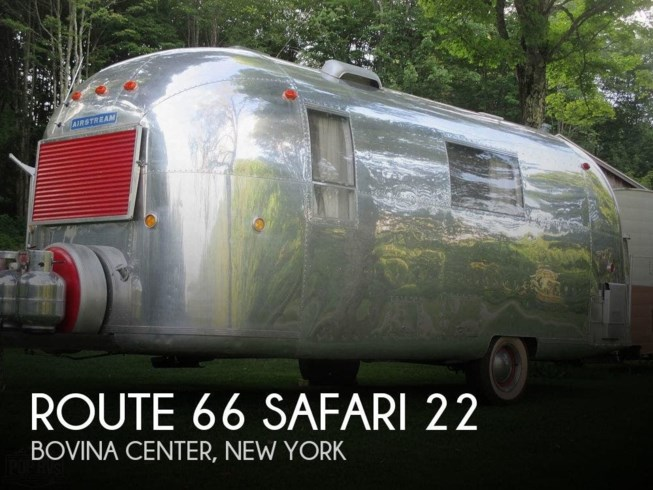 Used 1966 Airstream Safari Route 66  22 available in Bovina Center, New York