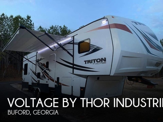 Used 2017 Miscellaneous Voltage by Thor Industries Triton 3451 available in Buford, Georgia