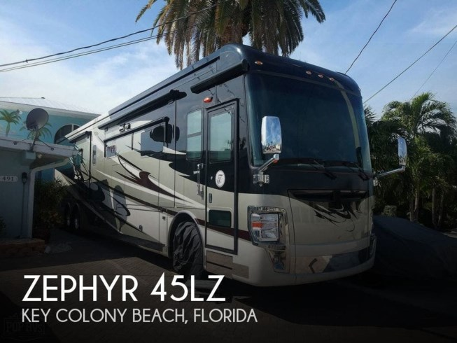 Used 2013 Tiffin Zephyr 45LZ available in Key Colony Beach, Florida