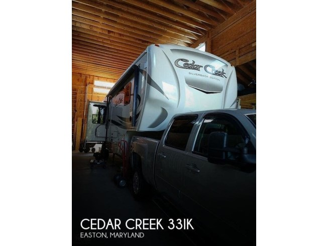 Used 2017 Forest River Cedar Creek 33IK available in Easton, Maryland