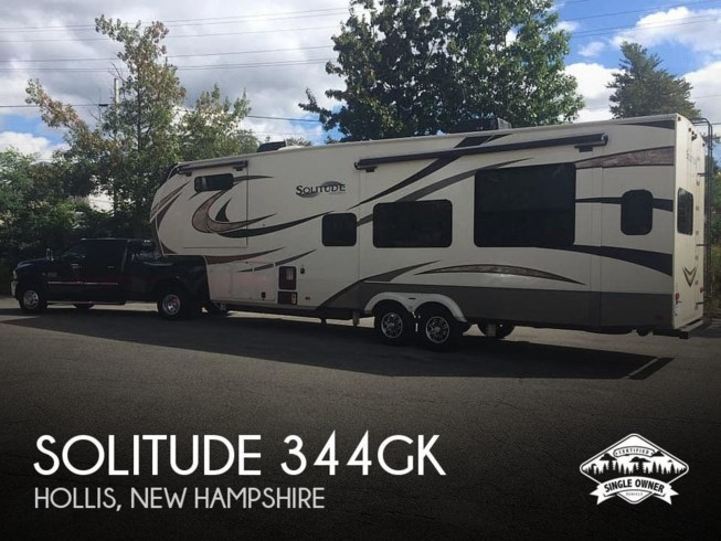 Used 2018 Grand Design Solitude 344GK available in Hollis, New Hampshire