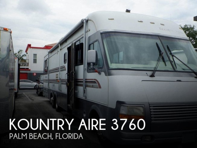 Used 1995 Newmar Kountry Aire 3760 available in Palm Beach, Florida