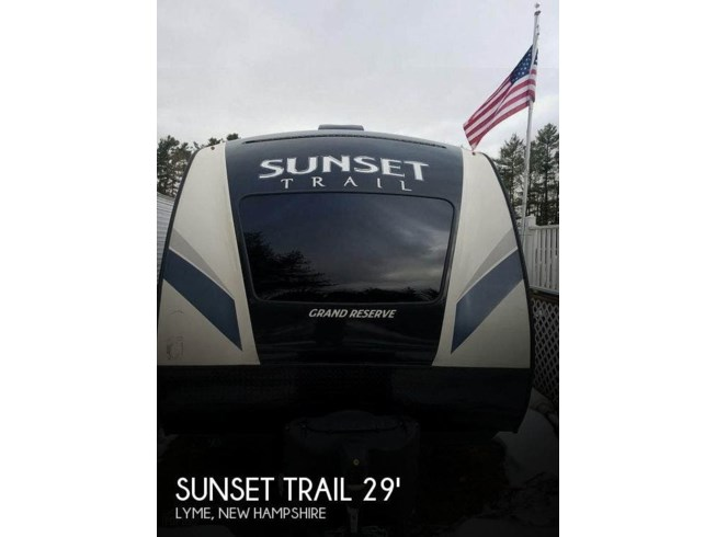 Used 2017 CrossRoads Sunset Trail Grand Reserve 28BH available in Lyme, New Hampshire